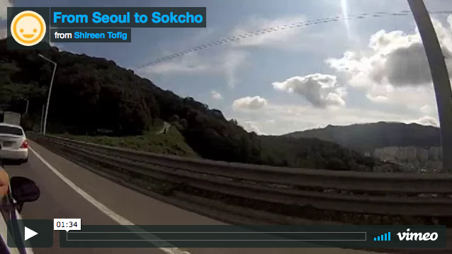 From Seoul to Sokcho
